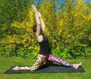Hatha Yoga runners stretch